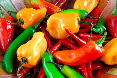 Spicy foods can irritate your throat and the spicier the food, the more irritation…which means the more wear and tear on your throat and vocal chords.