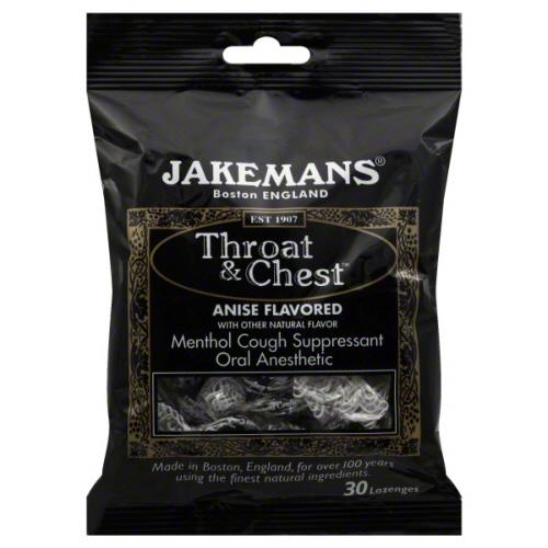 Jakeman's Throat & Chest Lozenges
